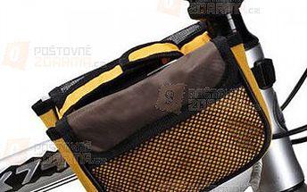 Cyklo brašna na rám jízdního kola s kapsou pro telefon - 2 barevné provedení a poštovné ZDARMA! - 19311218