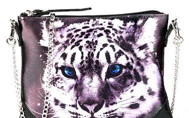 Dámská kabelka s potiskem bílého tygra Seven LA