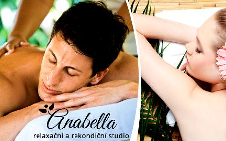 Královská 60 nebo 90 minutová uvolňující masáž celého těla - dle vašeho výběru