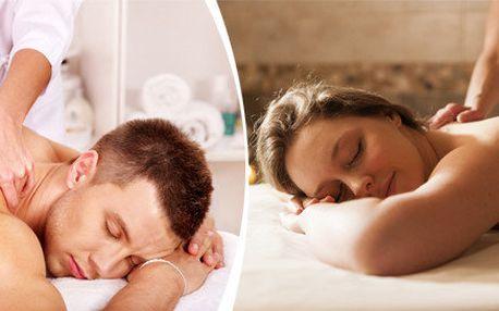 Klasická regenerační nebo relaxační masáž v délce 60 minut