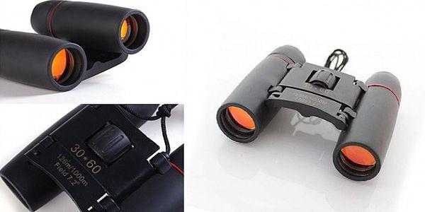 Kvalitní sportovní malý dalekohled 30x60 OPTI126 Vám přiblíží horizont na dosah ruky díky 30-násobnému zvětšení!