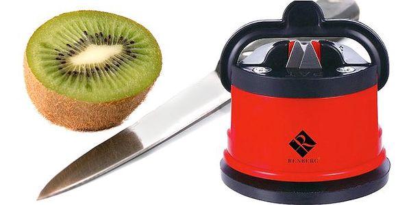 Brousek na nože a nůžky s přísavkou
