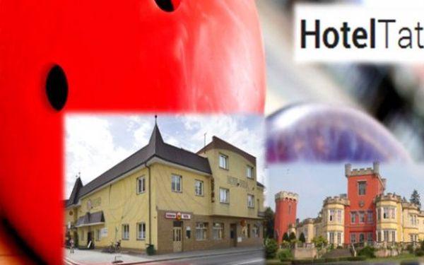 VÝCHODNÍ ČECHY - 3 dny s polopenzí pro 2 v krásném hotelu Tatra*** s bowlingem, saunou a zakuskem
