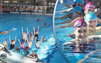 Příměstský plavecký tábor pro děti od 6 do 15 let