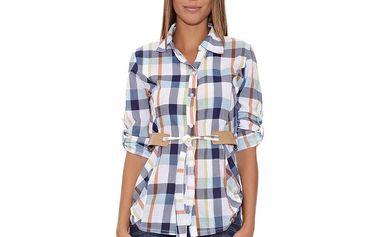 Dámská modro-bílá kostkovaná košile Assuili