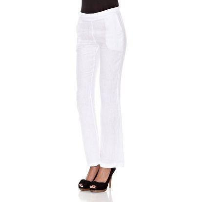 Dámské bílé kalhoty Assuili