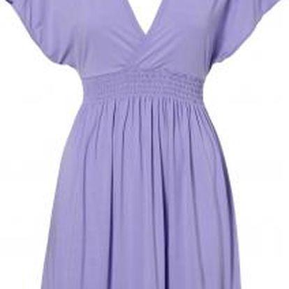 O'Neill PW PEGANA V-NECK LYCRA DRESS fialová S