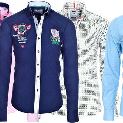 Luxusní pánské košile Pontto s doručením