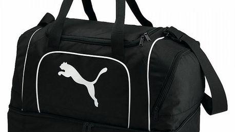 Sportovní taška Puma Team Cat Football Black/Power Blue