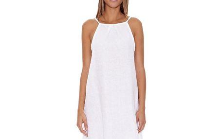 Dámské bílé ramínkové šaty Assuili