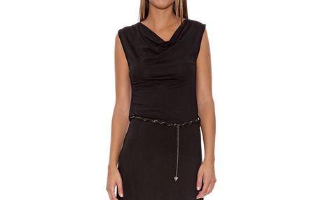 Dámské černé šaty s vodou Assuili