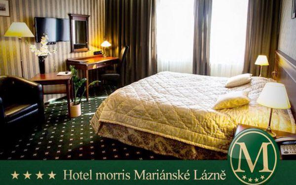 5denní Mariánské Lázně – luxusní wellness pobyt v Golf Hotelu Morris****