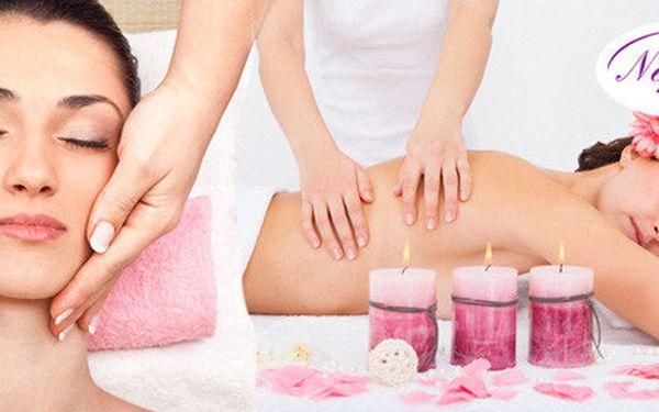 Unikátní růžová masáž s aromaterapií