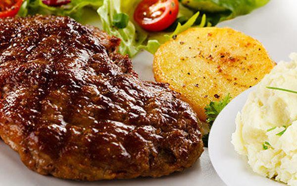 Dva 200g steaky z krkovičky pro dva