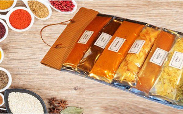 Výběrové koření bez glutamánu - 14 druhů v jednom balíčku včetné poštovného
