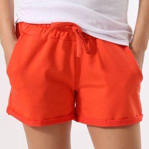 Dámské oranžové šortky Santa Barbara