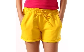 Dámské žluté šortky Santa Barbara