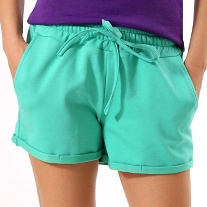 Dámské zelené šortky Santa Barbara