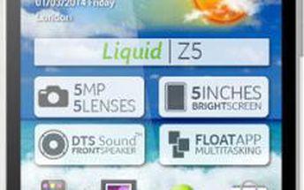 Mobilní telefon Acer Z5 Dual Sim (HM.HD9EE.001) bílý + DOPRAVA ZDARMA