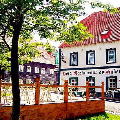 3denní wellness pobyt v hotelu Sv. Hubert*** v Krušných horách pro dva