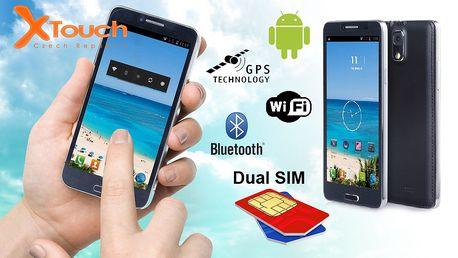 Smartphone X-touch Pro 9995 s podporou 2 SIM karet