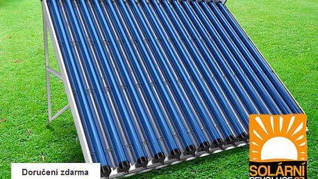 Samostatný solární kolektor