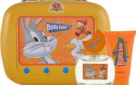 Looney Tunes Bugs Bunny EDT dárková sada U - Edt 50ml + 75ml sprchový gel