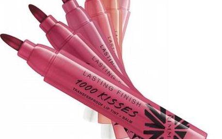 Rimmel London 1000 Kisses Lip Tint Balm 6g Péče o rty W - Odstín 300 Perpetual Plum