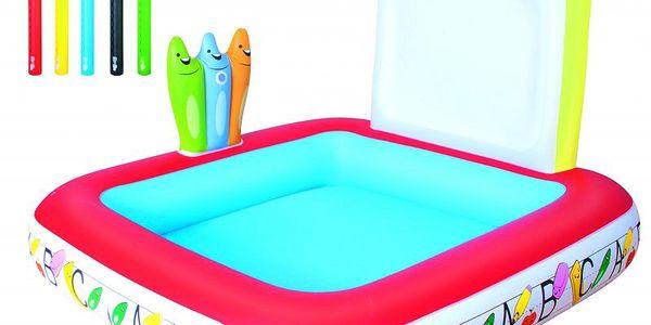 Bestway Školní bazének učte se a malujte na omyvatelnou nafukovací stěnu