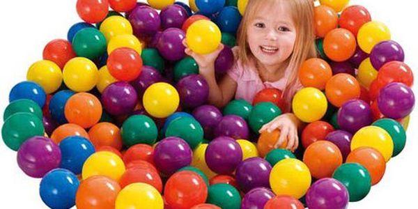 Intex barevné míčky do bazénu 100 ka