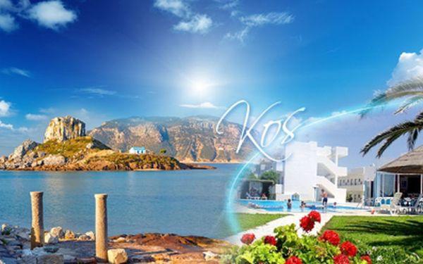 OSM DNÍ v ČERVENCI na ostrově KOS s LETECKOU DOPRAVOU a POLOPENZÍ jen za 11.990 Kč ! Ubytování v hotelu Blue Jay*** s BAZÉNEM! Navštivte starověké ruiny, užijte si řeckou kulturu a ochutnejte místní speciality, to vše Kos nabízí!