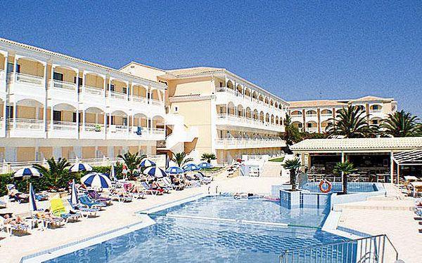 Hotel Poseidon, Zakynthos, Řecko, letecky, polopenze