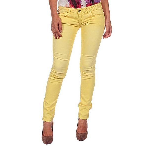 Dámské žluté džíny Calvin Klein
