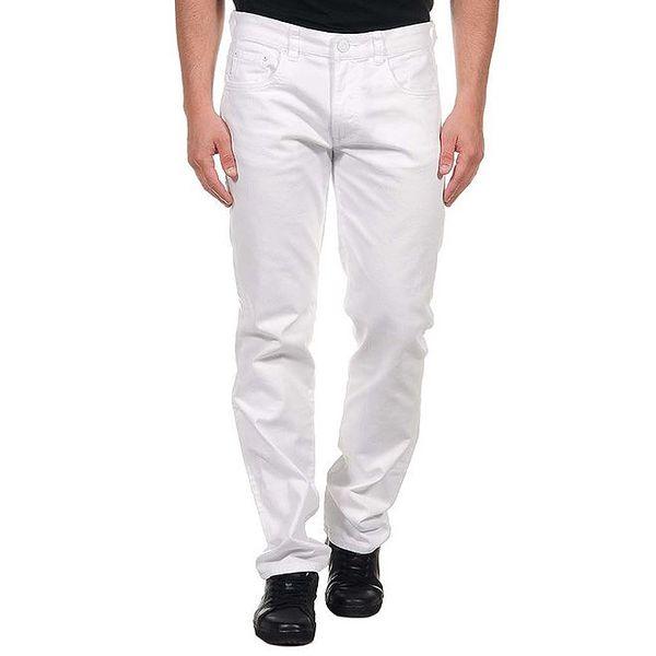 Pánské bílé džíny s bílým knoflíkem Calvin Klein