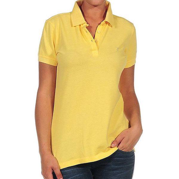 Dámské žluté polo tričko Calvin Klein