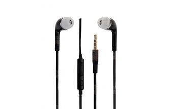 Černá sluchátka do uší s 3.5mm konektorem a poštovné ZDARMA! - 20311555