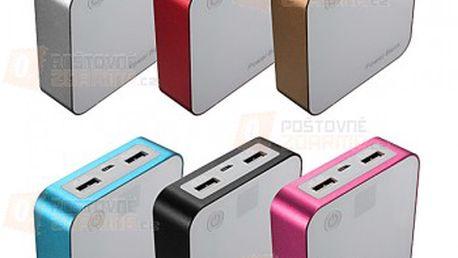 Záložní zdroj energie Power bank - více barev a poštovné ZDARMA! - 20111549