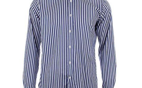 Pánská modro-bíle pruhovaná košile a tričko A Fish Named Fred