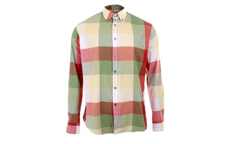Pánská košile s velkými kostkami A Fish Named Fred