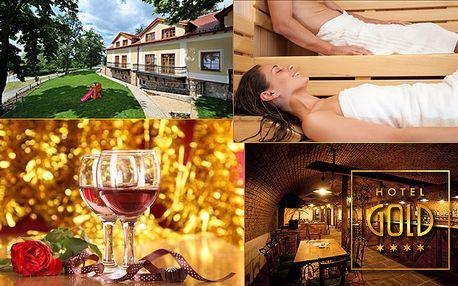 Romantický pobyt v Jižních Čechách v Hotelu Gold****