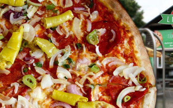 Obří pizza (45 cm) s sebou nebo na zahrádce