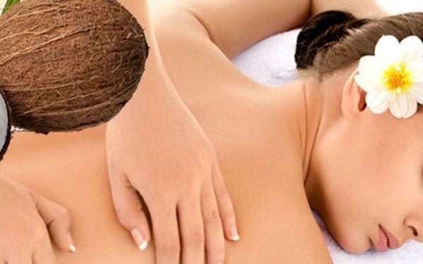 Exotická kokosová masáž s peelingem - 90 minut