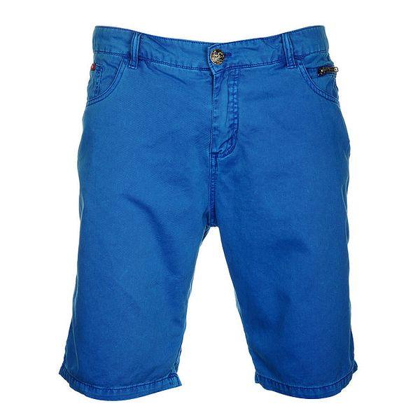 Pánské výrazně modré bermudy Lee Cooper