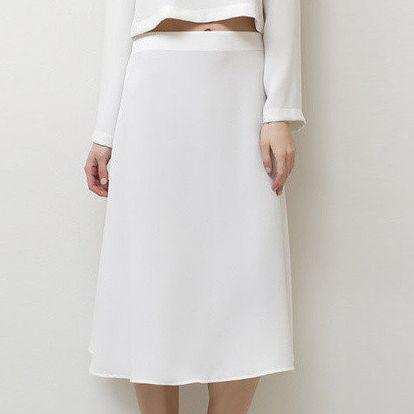 Dámská bílá sukně Mija