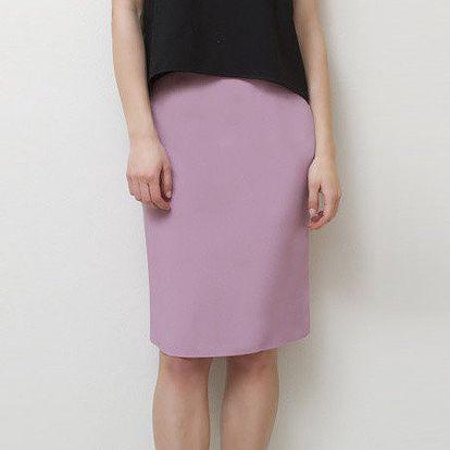 Dámská růžová sukně Mija