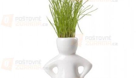 Květináč ve tvaru panáčka se semínky a poštovné ZDARMA s dodáním do 3 dnů! - 30307999