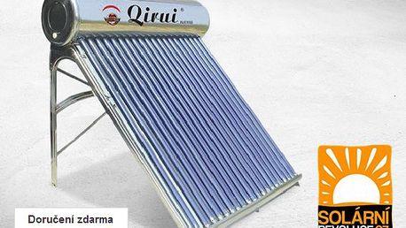 Solární vakuový kolektor včetně nádrže