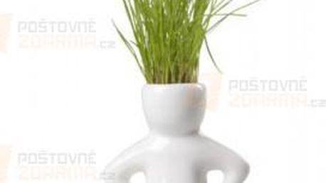 Květináč ve tvaru panáčka se semínky a poštovné ZDARMA s dodáním do 3 dnů! - 31107999