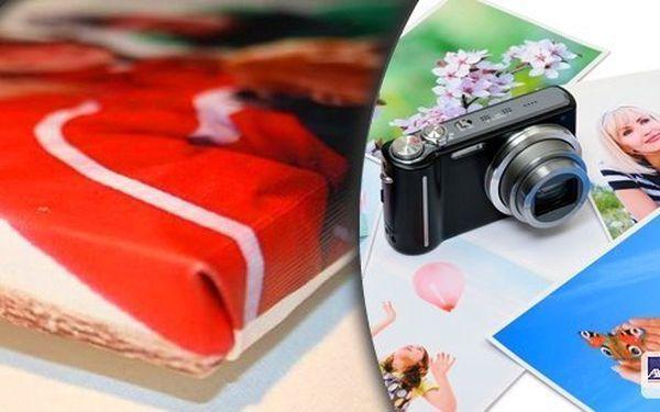 Dejte svým vzpomínkám podobu! Fotoobraz z vašich fotografií na bavlněném plátně Canvas a ručně napnutý na smrkový rám včetně ochranné laminace! Vyberte si z několika rozměrů - vybere si každý!