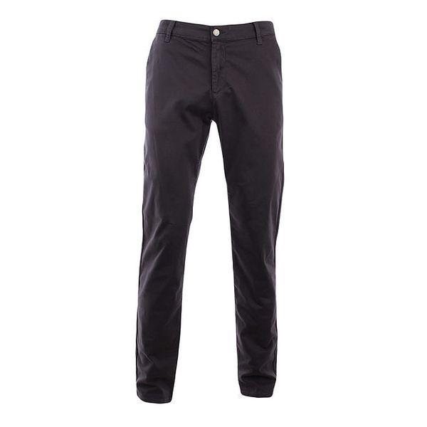 Pánské tmavě šedé slim chino kalhoty Monkee Genes
